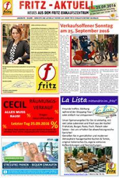 Centerzeitung 05-2016 - Neues aus dem fritz