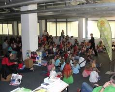 Kinderbuchlesung am 24.04.2010
