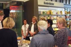Fränkische Bäuerinnen kochten am 19.04.2013 in der Buchhandlung Hübscher_2