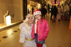 Die fritz-Shopping-Engel waren an den Adventssamstagen im fritz