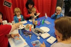 Kinder-Kunst-Werkstatt im fritz