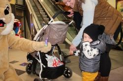 Der Osterhase besucht das fritz Einkaufszentrum