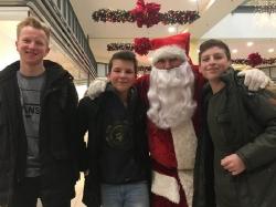 Der Nikolaus zu Besuch im fritz 06.12.2017