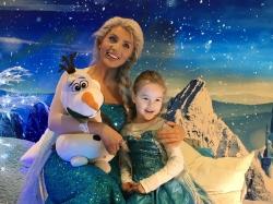 Eiskönigin Elsa zu Besuch im fritz 16.12.2017
