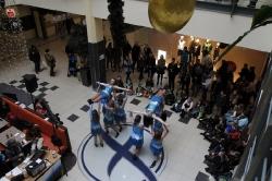 Tanzvorführungen der Parkettfeger am 14.01.2017 im fritz