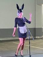 Auftritt der Pocket Opera Company & der Sopranistin Corinna Ruba am 12.09.2020 im fritz Einkaufszentrum
