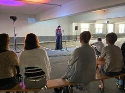 Auftritt der Pocket Opera Company & der Sopranistin Corinna Ruba am 12.09.2020 im fritz Einkaufszentrum_23